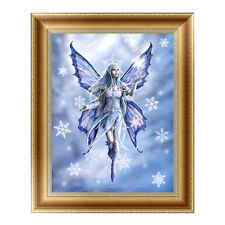 5D Diamond Painting Ice Snow Wizard Embroidery Cross Crafts Stitch Home Deco Pro