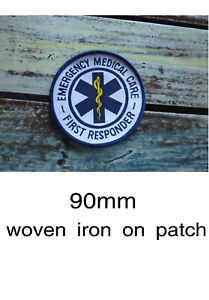 NEW paramedic's patches
