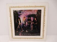 "Cinderella 1986 Night Songs By Custom Images Inc. 6""x6"" Glass Art"