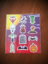 Halloween sticker sheets Party Bags Gifts