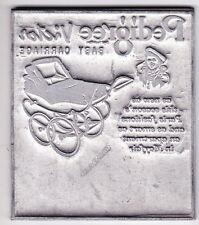 Vintage letterpress printing plate card making Pedigree Victor coach built pram