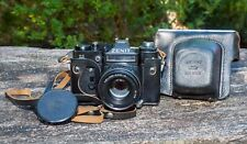 Zenith Zenit 11 Russian 35mm Camera + 44M Helios Lens . Fully Film Tested