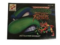 Teenage Mutant Ninja Turtles Tournament Fighters Manual (Nintendo) NES