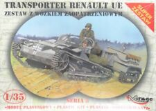 RENAULT UE CARRIER WITH TRAILER  (GERMAN & FRENCH ARMY MKGS)#35514 1/35 MIRAGE