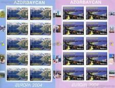 Europa CEPT 2004 vacanze-Azerbaigian 573-74 piccoli archi **
