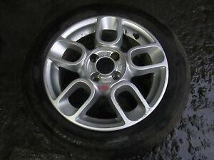 "FIAT 500 GENUINE 15"" ALLOY WHEEL 185/55/15 6J ET35 51791160 (REF: L65)"