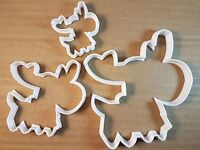 Reindeer Xmas Christmas Shape Cookie Cutter Animal Biscuit Pastry Fondant Sharp