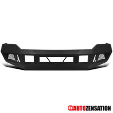 For 2011-2016 Ford F250 F350 Super Duty Steel Front Bumper Guard Black 1PC