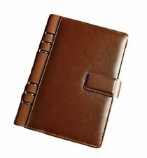 Touch VIP Filofax leather A5 card business card pen holder Ring 22mm W/Tracking