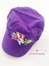 Girl Kids Children Shopkins Purple Golf Sun Hat Cap Birthday Xmas Gift 5-10Years