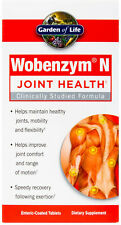 Wobenzym N, Garden of Life, 400 tablets