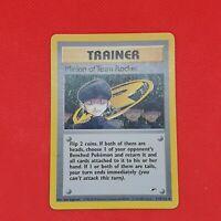 Minion of Team Rocket 113/132 Gym Heroes Non Holo Rare WOTC Pokemon Trainer Card