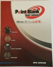 Point Blank Body Armor Law Enforcement Catalog Booklet 2016 Military 72 Pages