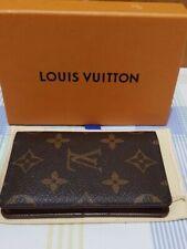 Authentic Louis Vuitton Card Case