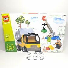 Lego Explore 3611 Crane Set Preschool Building Toy Duplo Brand New Sealed 2002