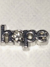 ** HOPE **Floating Charm For Living Memory Lockets~Pretty~There is always HOPE!