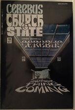Cerebus Church & State #18 VF+/NM- Free UK P&P Aardvark-Vanaheim Comics