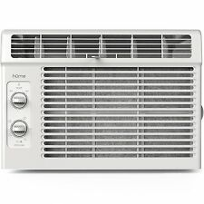 hOme 5000 BTU Window Mounted Air Conditioner - Compact 7 Speed Indoor Room AC