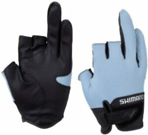 SHIMANO Fishing Gloves GL-021S 3D Advance 3 3 Pieces Off S ~ XL Size XS