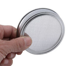 New listing Stainless Filter Round Mesh Screen Strainer Filter Wide Mouth Filter Cover Kv