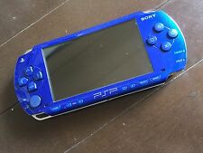 excellent Sony PSP 1000 Metallic Blue Handheld System japan