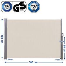 Seitenmarkise Seitenrollo Markisenstoff aus Polyester 280 g/m² T�œV geprüft