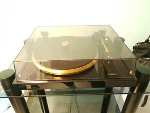 DUAL Golden 1 (One) High-End Plattenspieler mit akai Hifi-Rack und Geräten