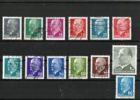 DDR Briefmarken  - Ulbricht - Serie 1961/71 - Gestempelt
