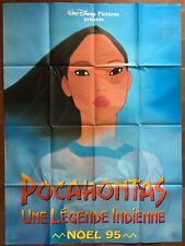 Affiche POCAHONTAS UNE LEGENDE INDIENNE Chambre Enfant WALT DISNEY 120x160cm *