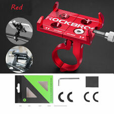 Rockbros Cycling MTB Road  Bicycle Aluminum Alloy Adjustable Phone Holder Red