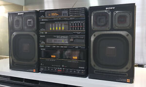 SONY FH-209W Compact High Density Component Hi-Fi System Ghettoblaster Boombox