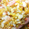 50g Natural Gold Yellow Jade Gravel Crystal Stone Rock Healing Mineral Specimen