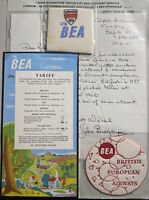 British European Airways BEA Viscount Service Nutts Corner Airport Collects Ephe