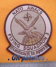 NATO Awacs sqn. 3 Luftwaffe Armee Militärisch Menge Stoff Flicken