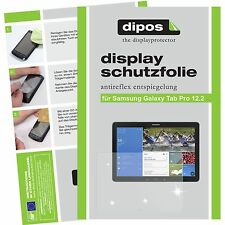 2x dipos Samsung Galaxy Tab Pro 12.2 Protector de Pantalla protectores mate