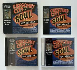 CRESCENT CITY SOUL Sound Of New Orleans R&B 1947-1974 - 4-Disc US CD Box Set