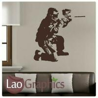 Paint Balling Large Vinyl Transfer / Wall Art / Giant Removable Wall Sticker X70