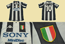 juventus jersey 1997 1998 shirt del piero home champions league playera
