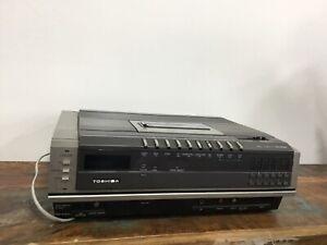 Vintage Toshiba Betamax Video Cassette Recorder V-8600B