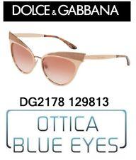 Occhiali da Sole DOLCE E GABBANA SUNGLASSES WOMAN DG 2178 129813 New Collection