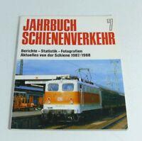 Livre De L'Année le Transport Ferroviaire 7 Actuel De Le Rail 1987/1988