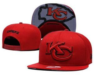 Kansas City Chiefs NFL Football Embroidered Hat Snapback Adjustable Cap