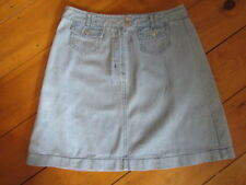 Topshop Denim Patternless Casual Skirts for Women