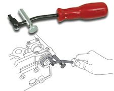 Lisle 58430 - Camshaft and Crankshaft Seal Puller Tool, Adjustable Hook -US Made