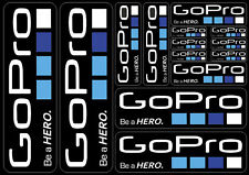 GoPro Hero Camera Decals Stickers Graphic Set Vinyl Logo Adhesive Aufkleber