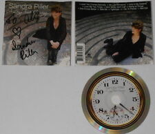 Sandra Piller  A Long Time Coming  autographed U.S. cd