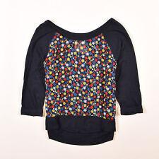 Hollister Damen Bluse Hemd Top Shirt Blouse Gr.XS (DE 34) Navy Blau, 47268