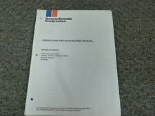 GrimmerSchmidt H130MSA H130QA 100Q Compressors Owner Operator Maintenance Manual