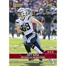 2016 Panini Instant NFL Football Joey Bosa Rookie Card #100 10.9.16 – 1 of 72