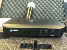 Shure Wireless Performance & DJ Microphones